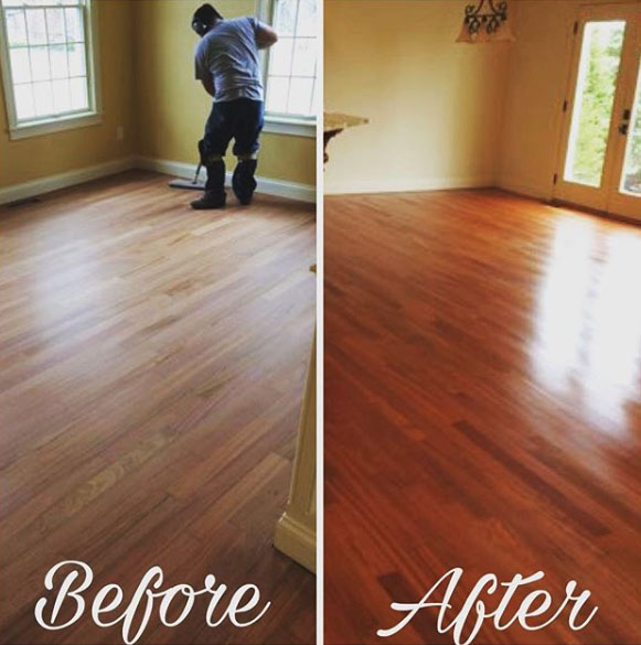 Sand And Refinishing Full Circle Flooring, Hardwood Flooring Indianapolis
