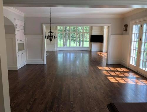 Natural Glow of Oil Finish Hardwood Floors